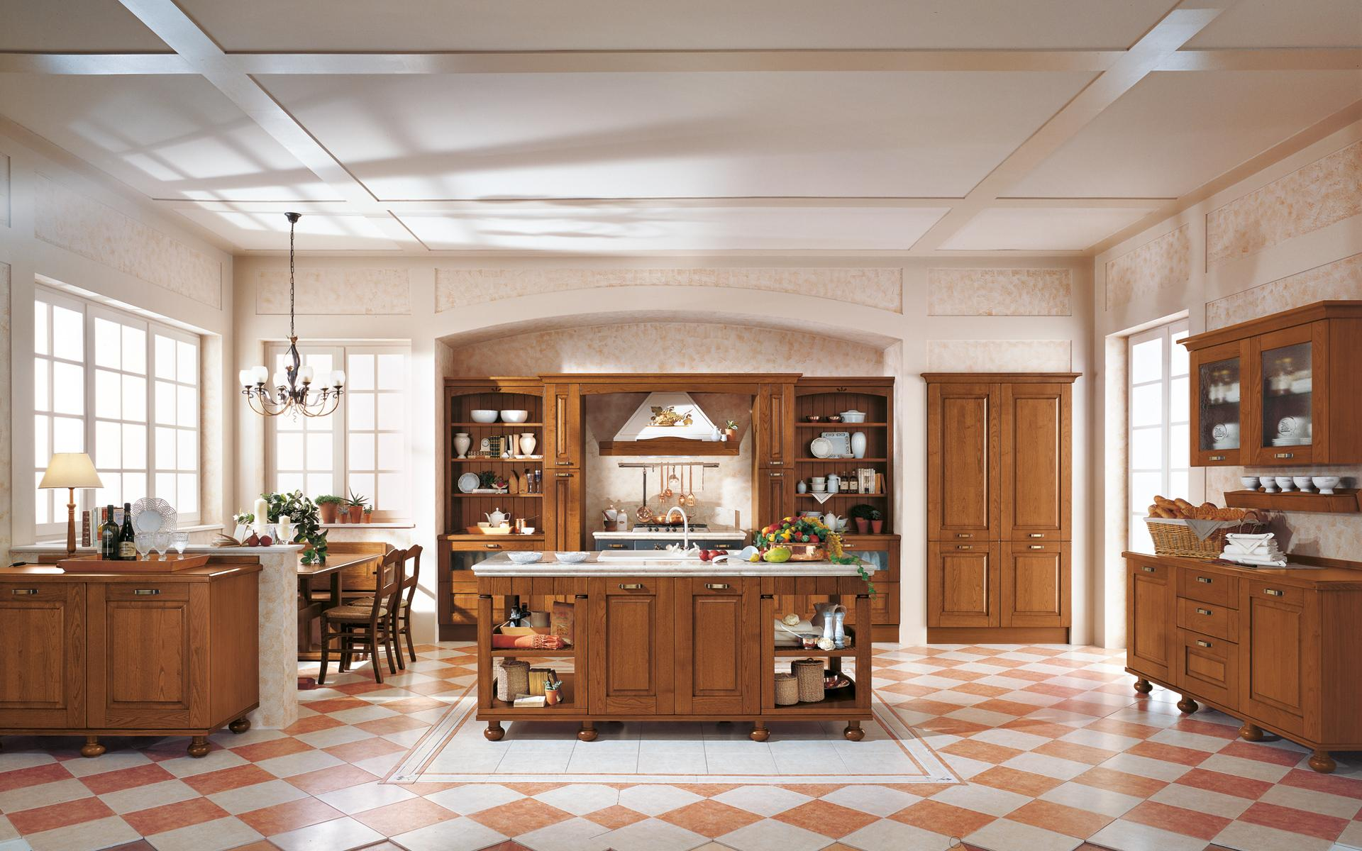 Porcelanico ispirazioni pavimento - Cucine con frigo esterno ...
